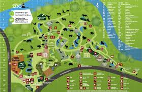 simple zoo map for kids. Modren Simple Adelaide Zoo Map In Simple For Kids