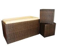 outdoor wicker storage bench indoor outdoor wicker bench designs wicker storage bench outdoor black wicker patio furniture storage deck box