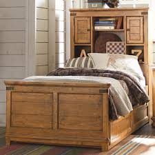 Drawers For Under Bed Twin Bookcase Bed With Underbed Trundle Or Storage Drawer Unit By