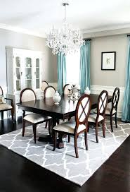 pictures of rugs under dining room tables image of gray best rug for under dining table