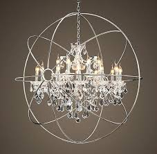 large orb chandelier black with crystals round wooden large orb chandelier