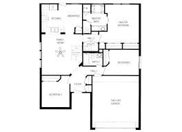 floor plan of a one story house. Simple One Story House Plans Design 1 Storey Floor Plan Of A T