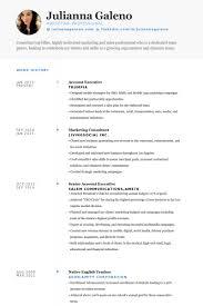 Marketing Consultant Resume Samples Visualcv Resume Samples Database