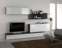 Composition Tv Murale Design Blanc Laqu Weng Fortis Banc Tv Meuble Tv Wenge Design Pas Cher