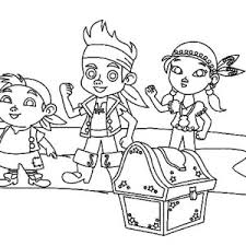 Small Picture Free Printable Jake And The Never Land Pirates Coloring Pages