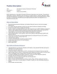 Industrial Electrician Resume Sample Resume Peppapp