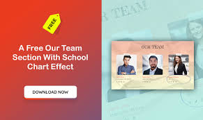 Divi Chart Our Team Section With School Chart Effect Divi Theme Designer