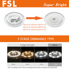 Fsl Lighting Catalogue 2019 Fsl 14w 18w 25w Dimmable Round Magnet Installation Led
