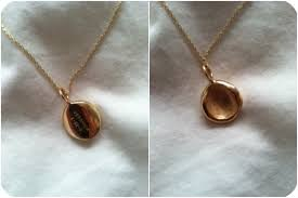 baby s fingerprint necklace