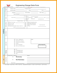 Engineering Change Order Template Best Photos Of Request