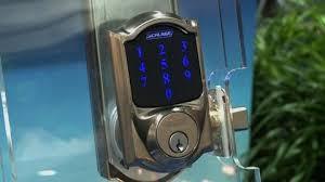 schlage front door locksSchlages Electronic Door Locks Outwit Burglars Consumer Reports