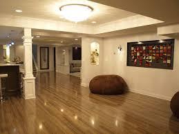 lighting ideas basement bar. appealing basement remodeling with sleek brown laminate wood flooring and bar white pillar also lighting ideas