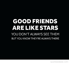 What Is Quote Best Friends Are Like Stars Quote Escellinternational