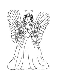 Small Picture Christmas Coloring Pages Retro Angels The Graphics Fairy Page
