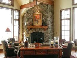 corner fireplace designs stone classy ideas pictures