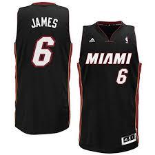 Rock – Famous Shop 6 Jersey Adidas Black Heat Nba James