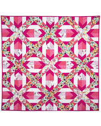 Cross Quilt Pattern Extraordinary GO Qube 48 Criss Cross Quilt Pattern AccuQuilt