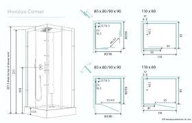 typical shower size outstanding standard bathroom size with shower bathroom standard shower stall size dimensions photo