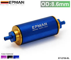 yamaha fuel management gauge wiring yamaha trailer wiring epman racing ready inline fuel filter od 8 6mm blue 100 micron element ep of86