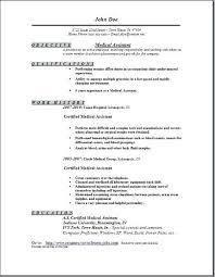 Sample Resumes For Medical Assistants Best of Resume For Medical Assistant Sample Resume Medical Assistant Sample