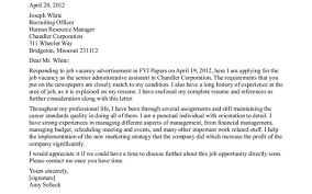 Resume Wonderful Cover Letter For An Office Assistant