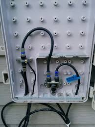 home cable wiring box home wiring diagrams online wiring how do i properly feed coax through an outside wall