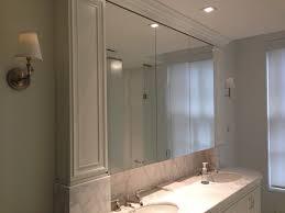 Recessed Medicine Cabinets Choosing Shopping Installation Inspiration Inset Bathroom Cabinets Interior
