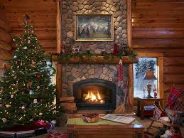 log cabin christmas decorations awesome a cozy log cabin full of holiday cheer house designs