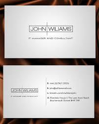 business card design for babak khosravi by junaid ahmad design business card design by junaid ahmad for business card for job seeker professional design
