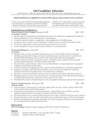Resume Objective Statement Sample