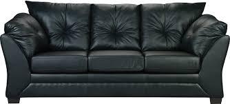 The Brick Living Room Furniture Max Faux Leather Sofa Black The Brick