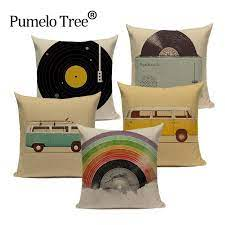 cartoon style pillow cover cushions