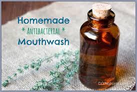 homemade mouthwash