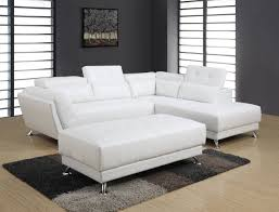 u8859n series white pu sectional the cly home