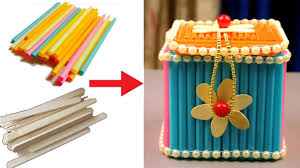 how to make jewellery box at home with waste material jewellery box craft best out of waste