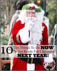 10 THINGS TO DO NOW TO GET READY FOR NEXT CHRISTMAS! - StoneGable
