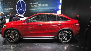 Amg gle 43 and amg gle 63 s. 2016 Mercedes Gle 450 Amg Coupe Is Surprisingly Practical In Detroit Live Photos Autoevolution