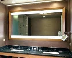 60 bathroom mirror inch bathroom mirror led free elegant mirrors bath the home depot x design decor frameless bathroom mirror 60 x 36