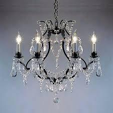 crystal and bronze chandelier celeste dark antique bronze glass drop crystal chandelier