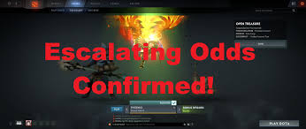 dota 2 ti6 escalating odds confirmed 3 items in 1 chest youtube