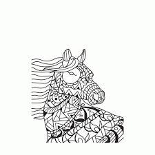 Leuk Voor Kids Paardenhoofd Idee Paardenhoofd Kleurplaat20 Nieuwe