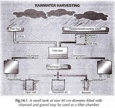 essay on rainwater harvesting method of storage