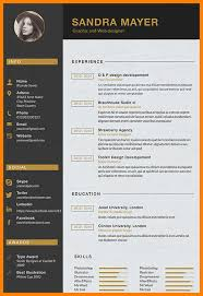 Graphic Design Resume Format – Msdoti69