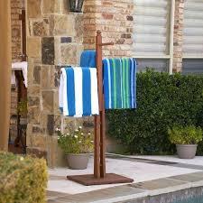 outdoor pool towel rack eucalyptus outdoor towel rack i could make this outdoor pool towel hooks outdoor pool towel rack