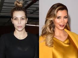 kim kardashian from stars without makeup