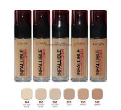 loreal makeup shades saubhaya makeup item 2 l 39 oreal infallible stay fresh 24h foundation brand