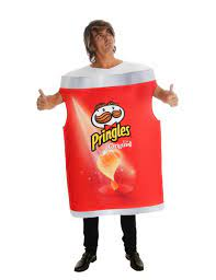 Pringles™-Kostüm offizielle Verkleidung für Erwachsene rot-weiss: Kostüme  für Erwachsene,und günstige Faschingskostüme - Vegaoo