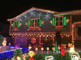 enjoys the holiday lights this season there isn t any shortage of illuminating homes in the garden state credits dawn miller