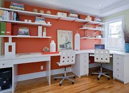 orange home office. Balance The Bold. 2/8. Orange Home Office
