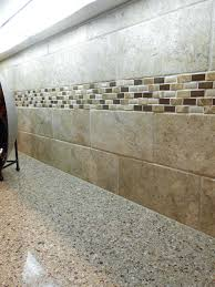 accent tile backsplash natural stone subway with natural stone accent strip white subway tile with glass accent tile backsplash glass